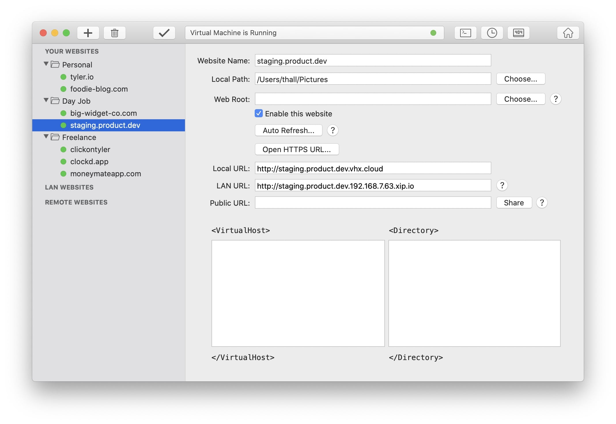 Modern UI Screenshot